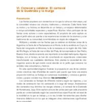 Nap Inicial Volumen 3 Conocer el ambiente social y natural Cap. VI Conocer y celebrar. El Carnaval de la Quebrada y la miurga.pdf